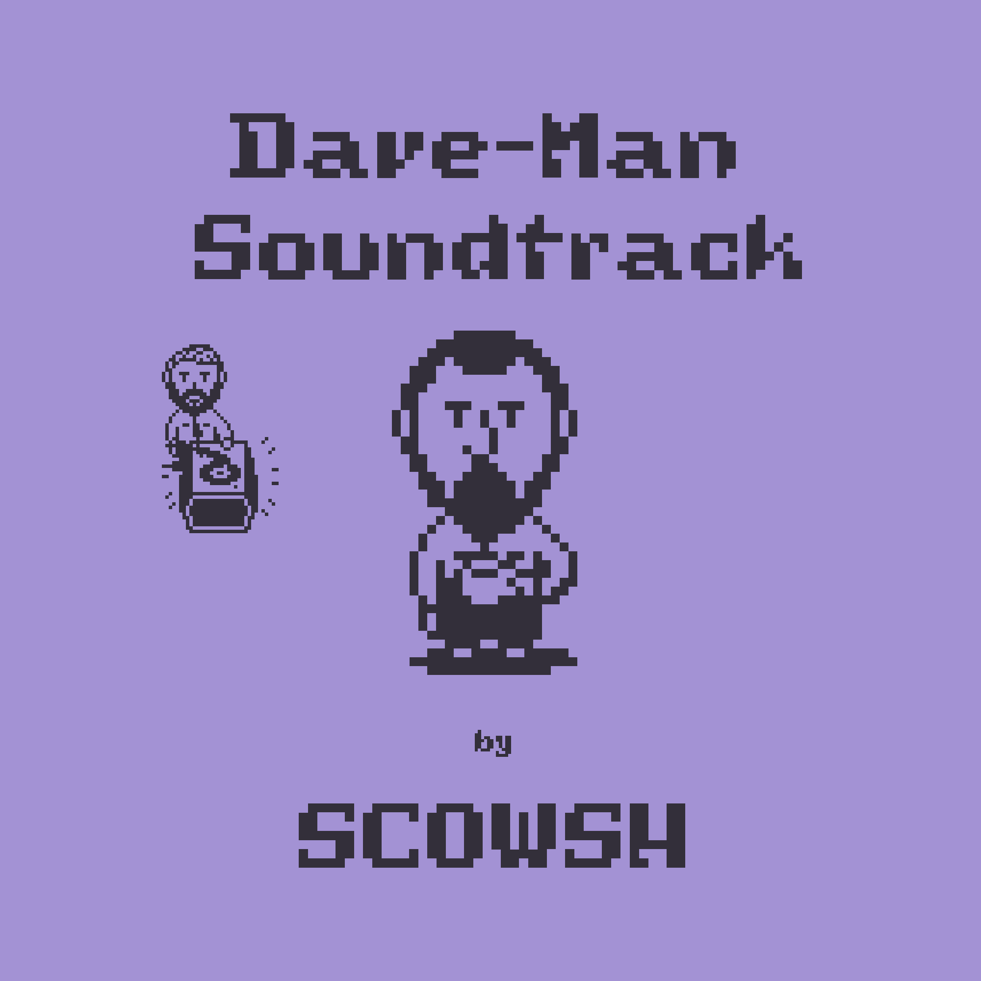 Dave-Man Soundtrack Album Cover